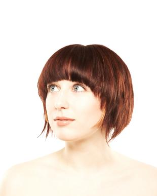 Short Bob with Sweeping Sides