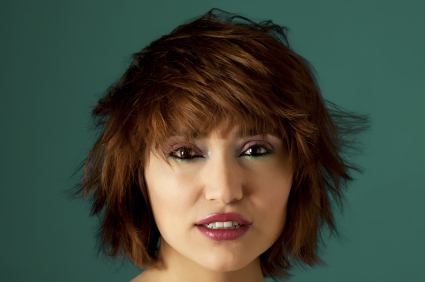 Short Hair - Heavily layered bob