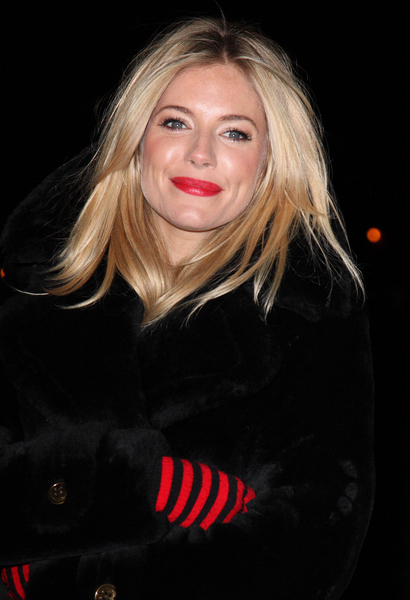 Sienna Miller's Golden Locks