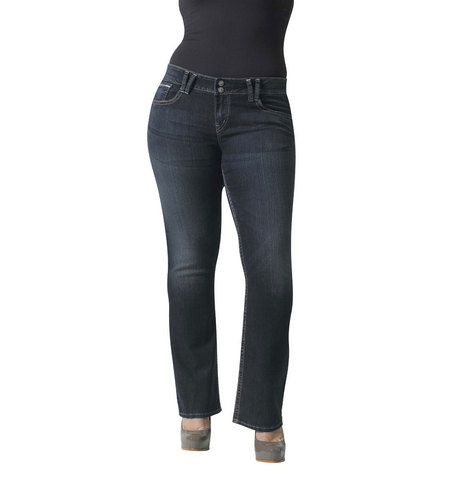 Dawson Slim Bootcut Jeans, Extended Size