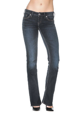 AIKO Bootcut Jeans Mid-Rise