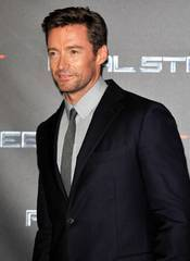 Hugh Jackman looks slick in Sydney