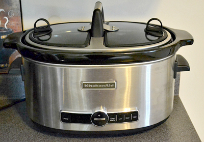 6 Quart Slow Cooker
