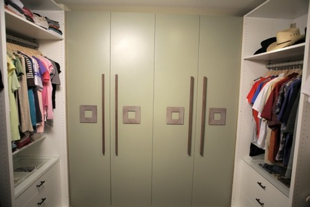 Master Bedroom Closet - After