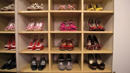 Master Bedroom Closet - Shoes