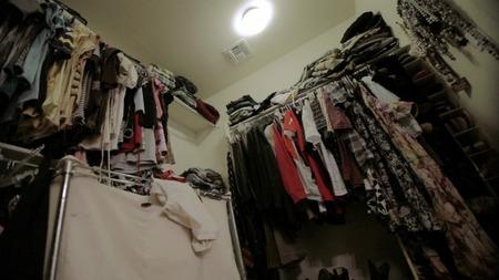 Master Bedroom Closet - Before