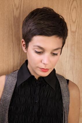 Smooth Pixie Cut