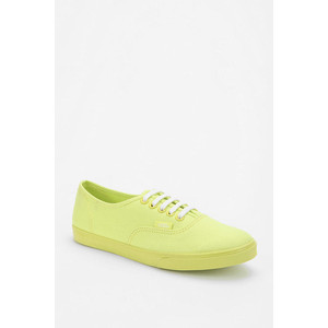 Kick your casual wear up a few notches with sassy sneakers in get-noticed shades of neon. Available at Urban Outfitters.