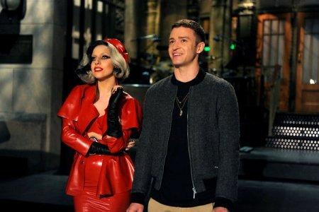 Justin Timberlake and Lady Gaga on SNL