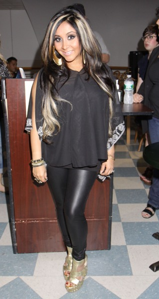 Snooki at book signing in New York