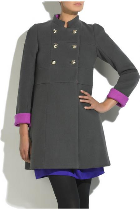 Sonia by Sonia Rykiel military coat