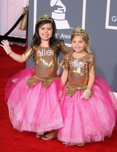 Sophia Grace and Rosie hit the red carpet