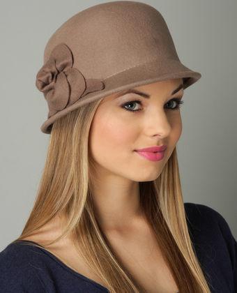 Speakeasy Hat in Taupe