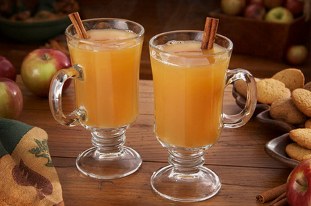 Spiked spiced cider