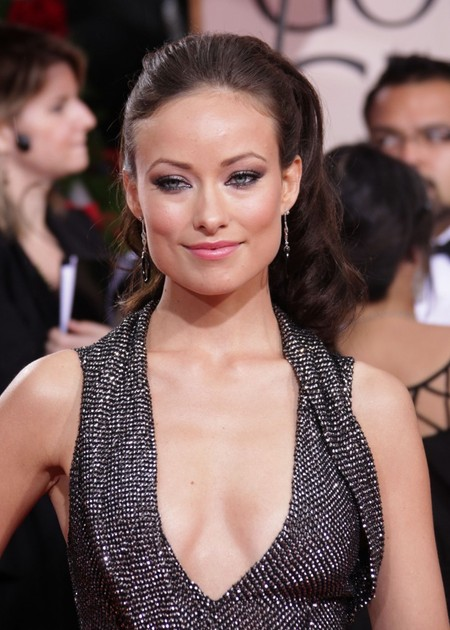 Olivia Wilde's Full Ponytail