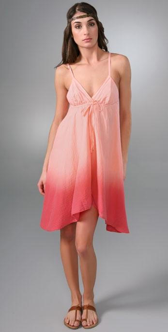Splendid Ombre V-Neck Dress
