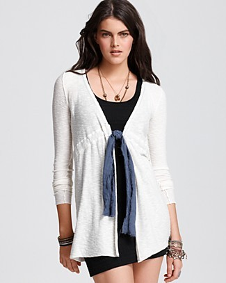 Flirty Bow Cardigan