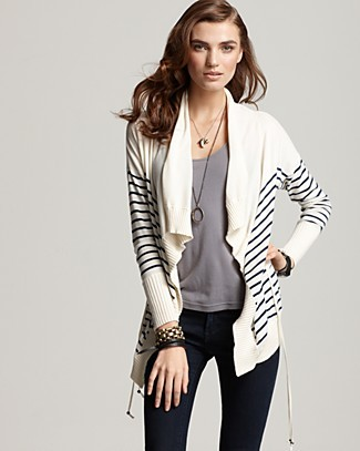 Striped Spring Cardigan