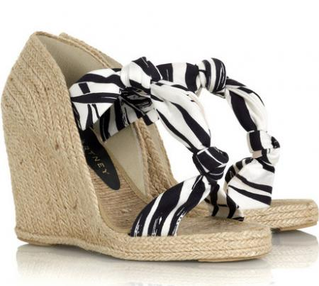 Stella McCartney Espadrille Wedges