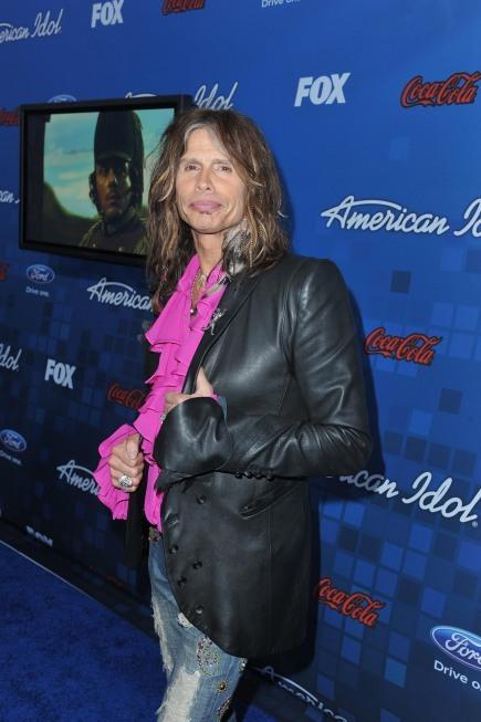 Steven Tyler in Pink