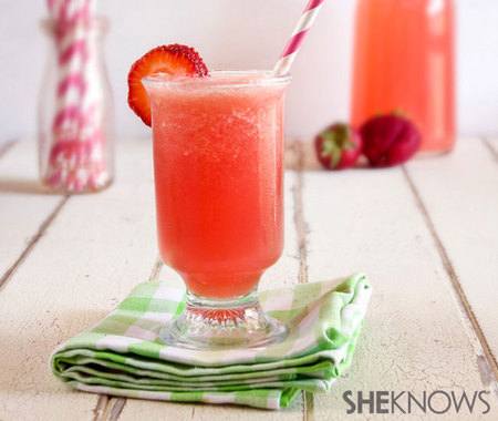 Strawberry watermelon cocktail