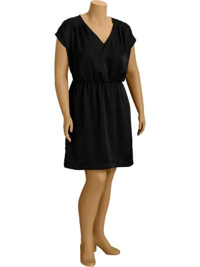 Old Navy Crepe V-Neck Dress