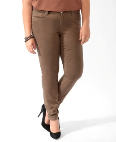 Forever 21 Colored Skinny Chinos
