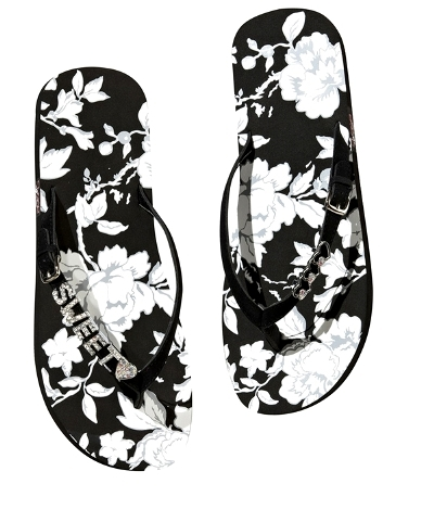 Sugar and Vine Flip Flops