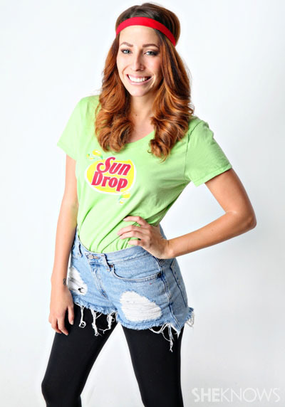 Sun Drop girl costume