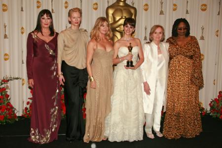 Best Supporting Actress winner Penelope Cruz