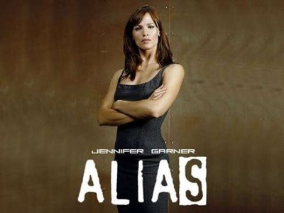 Jennifer Garner as Sydney Bristow in Alias