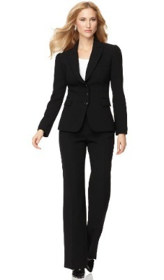 3 Button jacket and pant suit set
