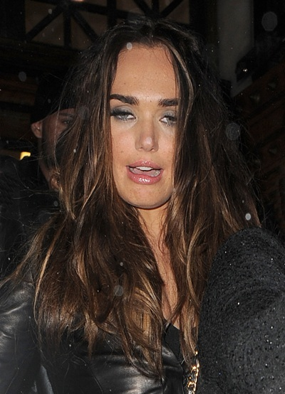 "Tamara Ecclestone's ""I just spent way too much money"" face."
