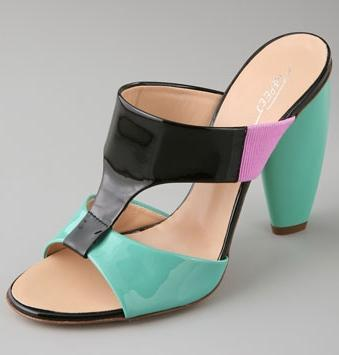 Tapeet T-Strap High Heel Sandals