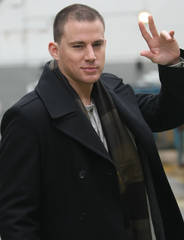 Channing Tatum arrives at ITV studios