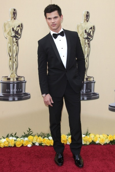 Taylor Lautner at the Oscars