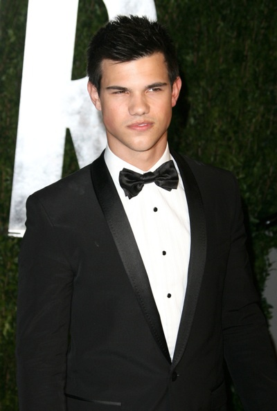 Taylor Lautner at the Vanity Fair party