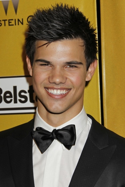 Taylor Lautner Golden Globes afterparty