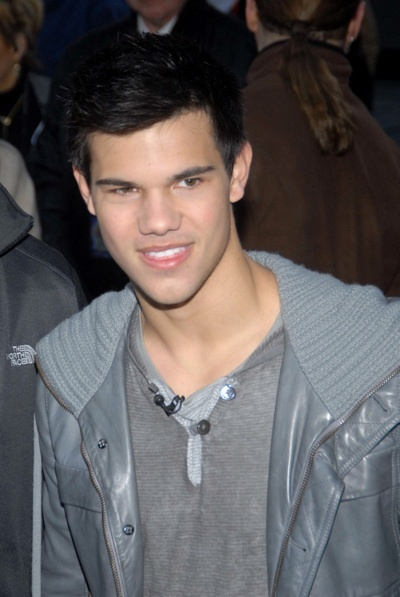 Taylor Lautner at the Today Show