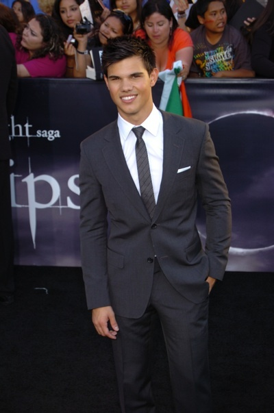 Taylor Lautner at Twilight Eclipse premiere