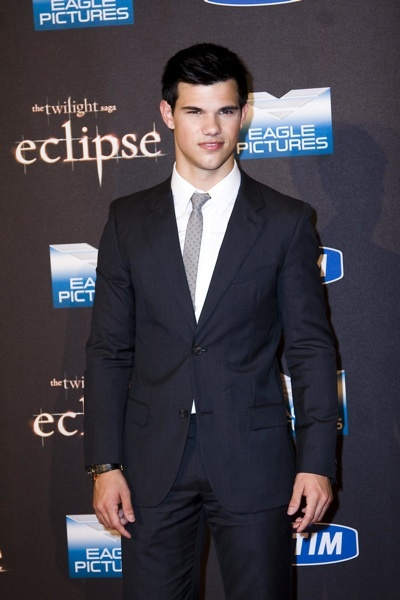 Taylor Lautner at Rome premiere of Eclipse
