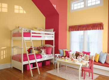 Tea for Two - Girl's Bedroom