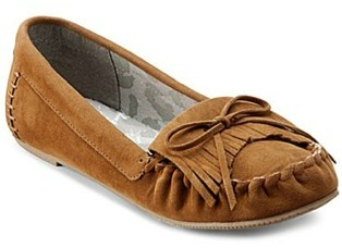 Junior's moccasin