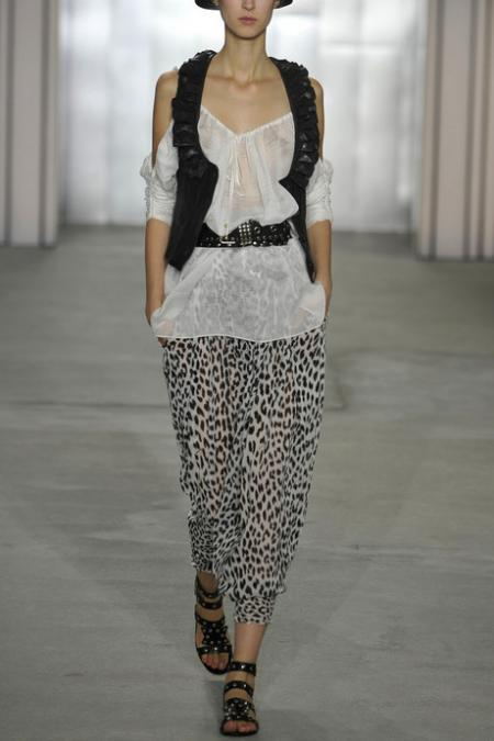 Temperley London Leopard-print Harem Pants