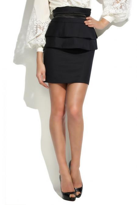 Temperley London wool pencil skirt