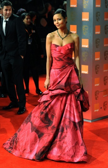 Thandie Newton at the BAFTAs