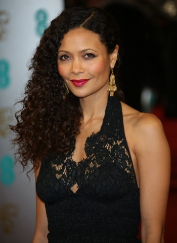 Thandie Newton at the 2013 BAFTAs