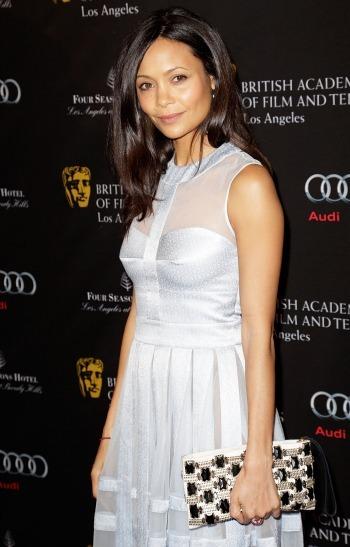 Thandie Newton at the BAFTA Tea Party