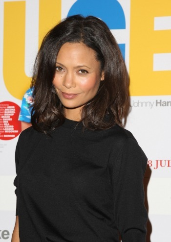 Thandie Newton at Huge premiere