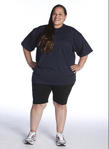 The Biggest Loser Season 8 Dina Before